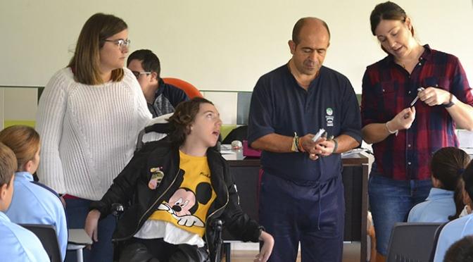 IGUAL A TI recorre colegios de La Rioja Baja para acercar la discapacidad intelectual a los escolares