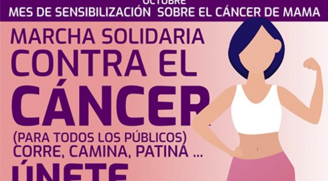 Marcha solidaria contra el cáncer este domingo