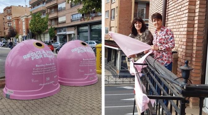 Campaña 'Recicla Vidrio por ellas' con motivo del Día Mundial del Cáncer de Mama