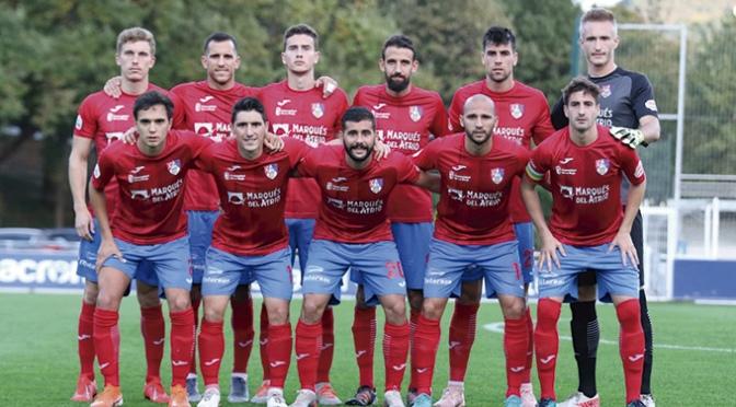 El CD Calahorra encajó la primera derrota de la temporada
