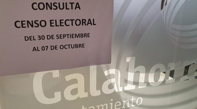 Ya puedes consultar el censo electoral calagurritano