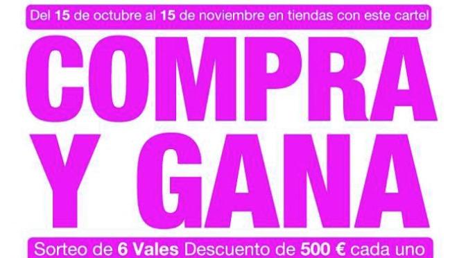"""3000€ en premios en la campaña """"Compra y gana"""" en el comercio de Calahorra"""