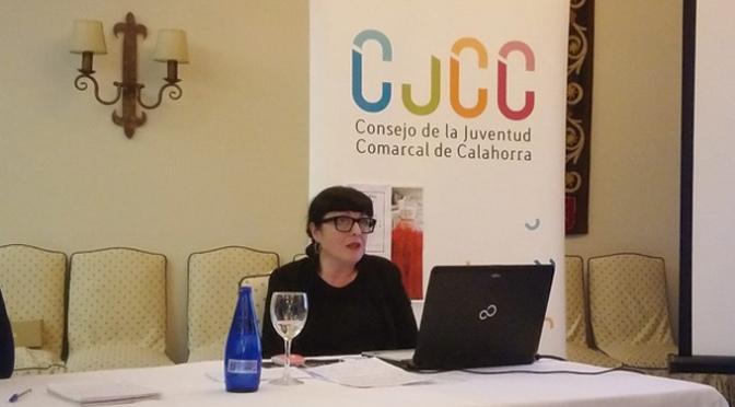 Cristina García, protagoniza la  primera tertulia del Consejo de la Juventud Comarcal de Calahorra