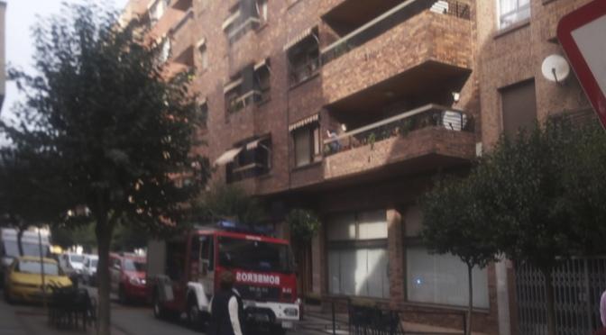 Extinguido incendio en la cocina de un inmueble esta mañana en Calahorra