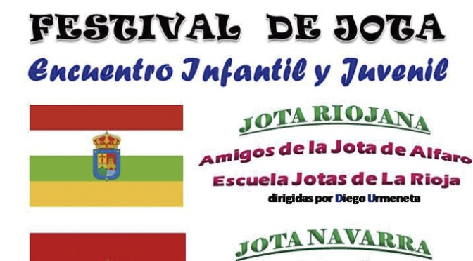 Festival de la jota. Encuentro Infantil y Juvenil en Alfaro