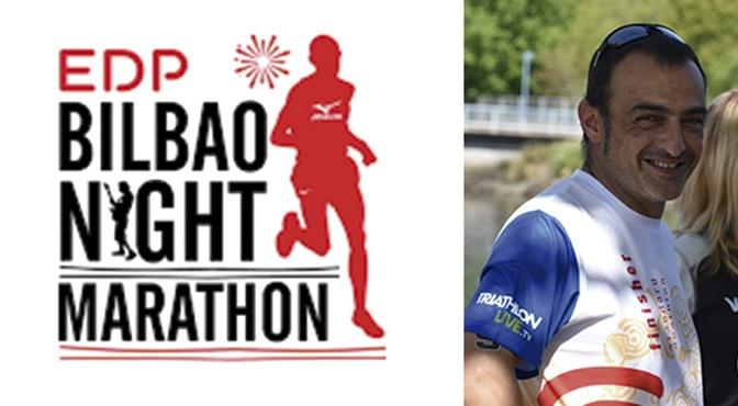 Juantxo García Otxoa supera más de 1.400 puestos en el EDP Bilbao Night Marathon
