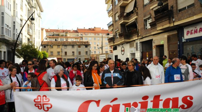 Más de 300 personas participaron en la carrera de Cáritas