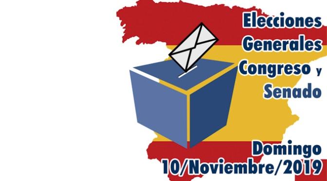 Composicion de las mesas electorales de Alfaro para las próximas elecciones del 10 de Noviembre