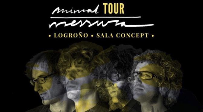 Mañana Messura presenta Animal, su nuevo disco, en la sala Concept de Logroño