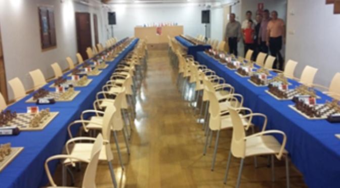 Todo preparado para el inicio del IX Open Internacional de Ajedrez Ciudad de Alfaro