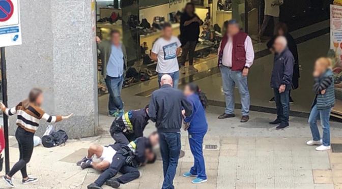 Delito de atentado y resistencia grave a agentes de la autoridad en Calahorra