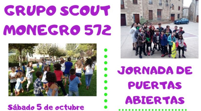 El Grupo Scout Monegro de Alfaro celebra una jornada de puertas abiertas