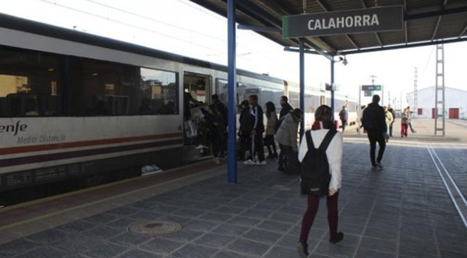 Se reestablece el servicio de información y venta presencial de billetes en la estación de tren de Calahorra