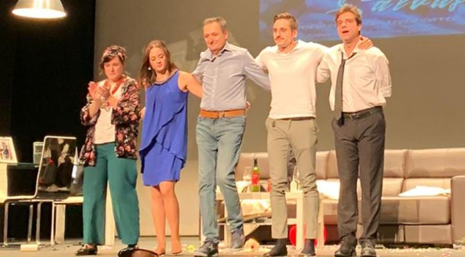El Grupo de teatro Tagaste celebró el 125 aniversario de Agustinos con la representación de 'Salvajes'