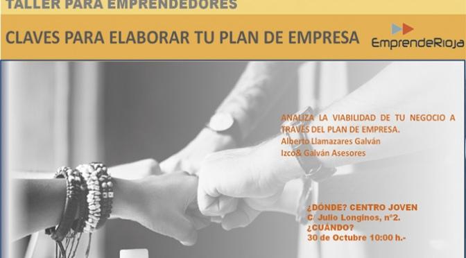 Talleres de formación para emprendedores en Calahorra