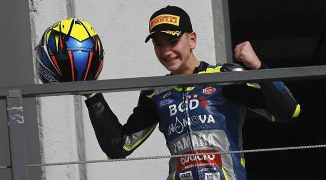 Meteórico final de temporada para el piloto de motos Unai Orradre