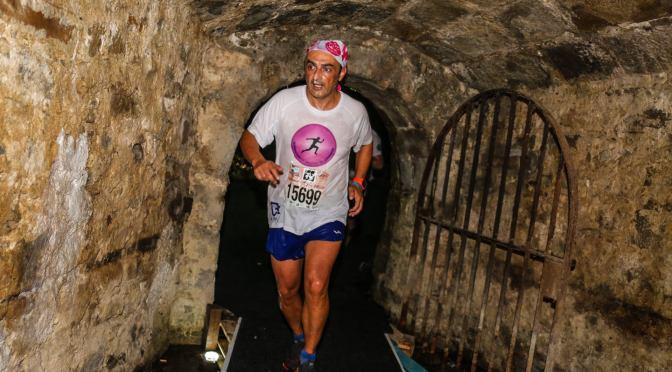 Juantxo García adelanta más de 600 puestos en la carrera de Las Murallas de Pamplona