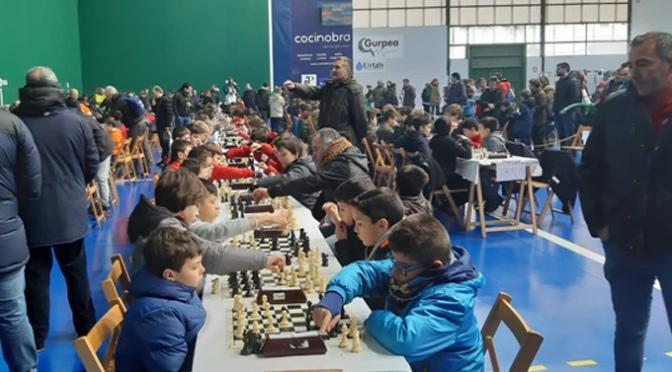 El club Calahorrano de ajedrez en el XX Torneo Mikel Gurea en Burlada