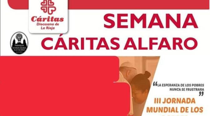 Charlas, reportajes, conciertos en la Semana de Cáritas Alfaro