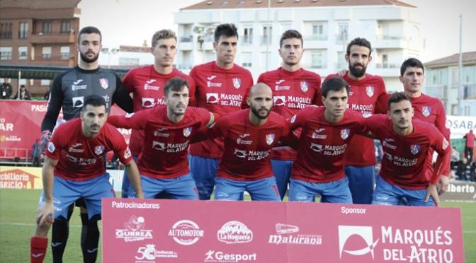 El CD Calahorra gana, 1-0, a la Cultural y Deportiva Leonesa y se coloca en una buena posición en la clasificación