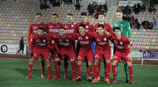 Tras el empate el CD Calahorra continua entrenando para el partido del domingo