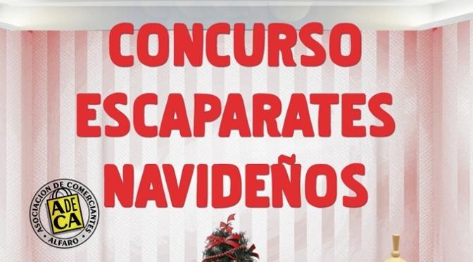 Vuelve el concurso de escaparates navideños a Alfaro