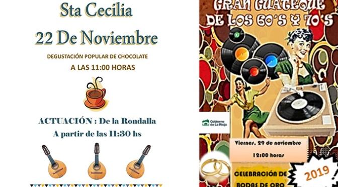 Celebración de Santa Cecilia y bodas de oro en el CPA