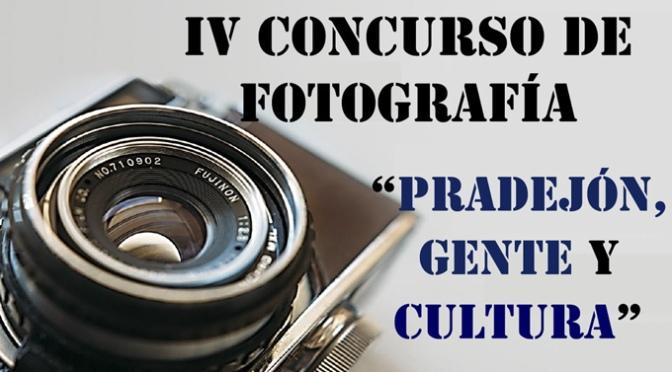 IV CONCURSO FOTOGRÁFICO 'PRADEJÓN, GENTE y CULTURA',
