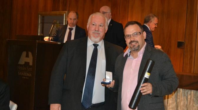 Juan Carlos Blanco ya tiene su Medalla al Mérito Filatélico, enhorabuena