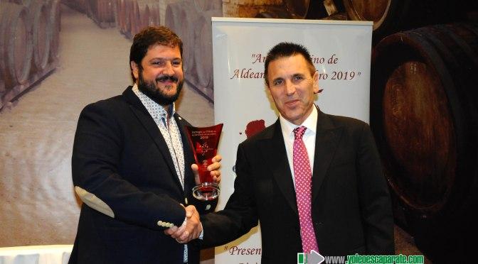 Aldeanueva de Ebro cuenta con un nuevo amigo del vino 2019, Ventura Martínez