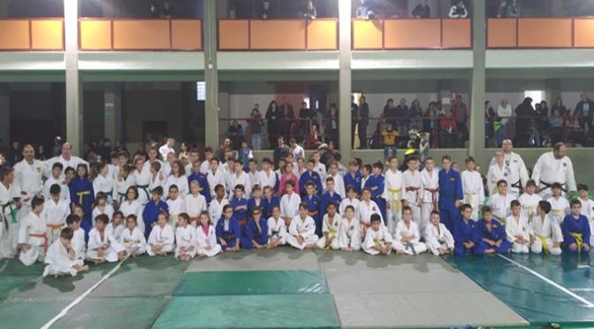 Casi 200 Judokas en la primera jornada de Judo de los Juegos Deportivos de La Rioja celebrada en Teresianas