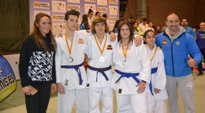 Excelentes Resultados de los Judokas Calagurritanos en la Copa de Aragón de Judo