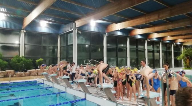 El sábado se celebró una jornada de natación de los juegos deportivos de la Rioja en Calahorra