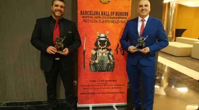 """Los Riojanos Jesús Aparicio y Avelino Lorente galardonados en la  """"HALL OF HONORS"""""""