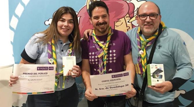 El Grupo Scout Ntra. Sra. de Guadalupe Nº50 premiado en el Concurso de cortos de ASDE