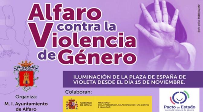 Alfaro contra la violencia de género
