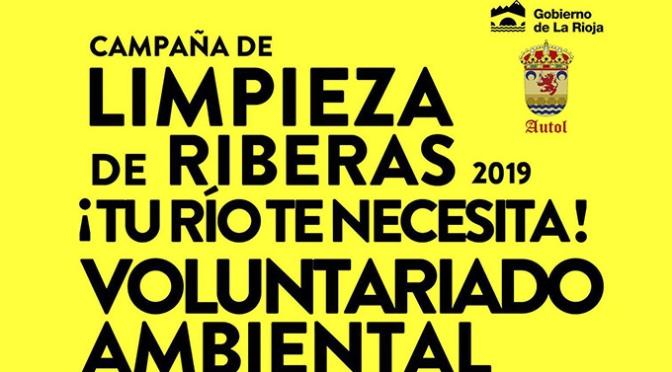 Este sábado en Autol Campaña de limpieza de la ribera del Cidacos