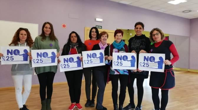Celebración del Día internacional de la eliminación de la violencia contra la mujer en San Adrián