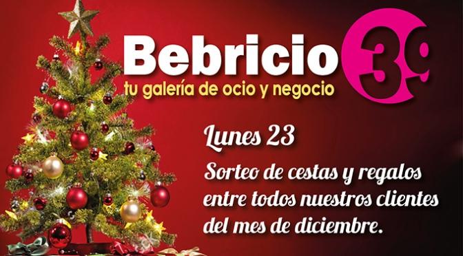 Hoy sorteos y regalos en Bebricio 39