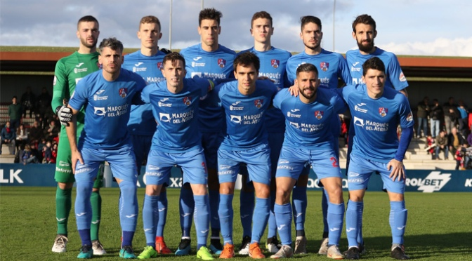 El CD Calahorra encajó la segunda derrota de la temporada