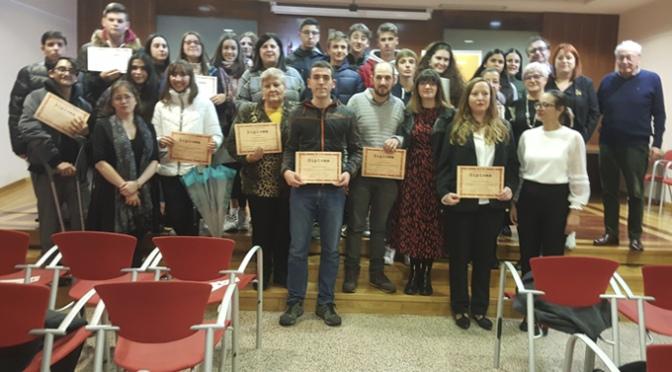 """Entrega de los premios del """"V Concurso de Emprendedores de Alfaro"""""""