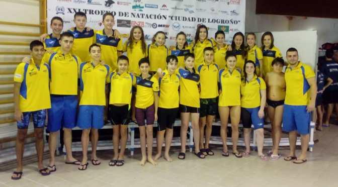 Buenos resultados de los nadadores del Nassica en el XXI Trofeo Ciudad de Logroño