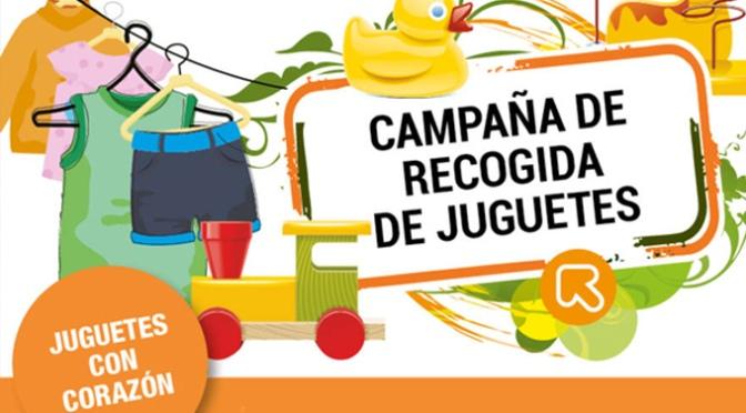 Fundación Cáritas Chavicar recoge Juguetes con Corazón para las familias con más necesidades