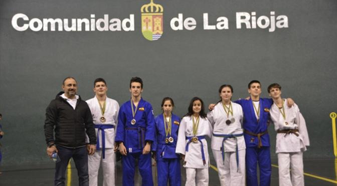 MUY BUENOS RESULTADOS EN EL CAMPEONATO DE LA RIOJA 2019 para Judo Calahorra
