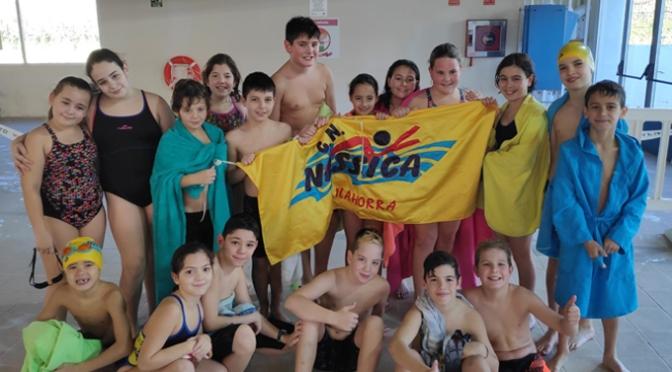 Cerca de 20 nadadores en la 2ª Jornada Escolar prebenjamin y benjamin de natación
