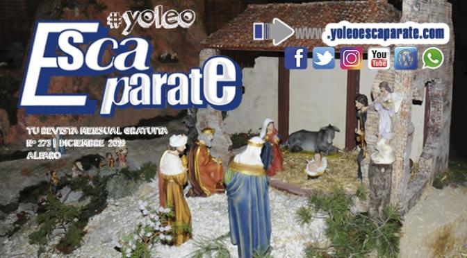 Feliz Navidad en Escaparate Alfaro diciembre