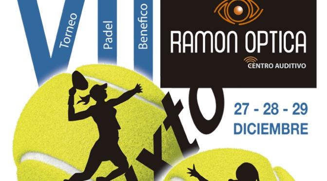 Y por Navidad, vuelve el VII Torneo de pádel benéfico Ramón Óptica