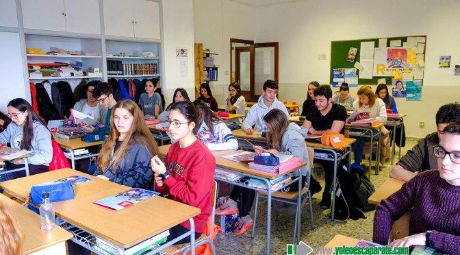 Alumnos de Teresianas reciben una Sesión informativa  de la Universidad de La Rioja