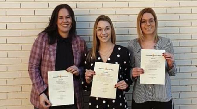 Alumnas de La Planilla reconocidas por su Excelencia Académica