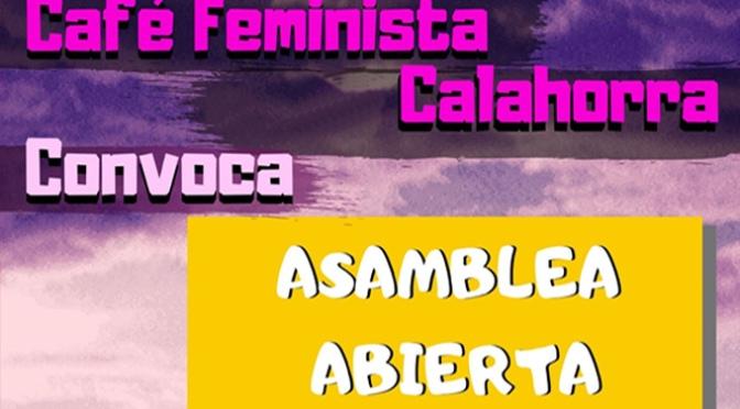 Café Feminista de Calahorra celebra una Asamblea abierta con motivo del 8M